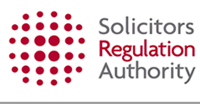 Opens a new window: Solicitors Regulation Authority Logo